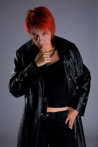 Екатерина Белоброва. Фото взято с сайта гр. Эпидемия http://epidemia.ru