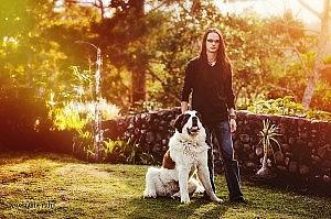 Михаил Нахимович и собака